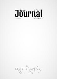 DRUK JOURNAL ABOUT CIVIL SOCIETY - f4dialogue
