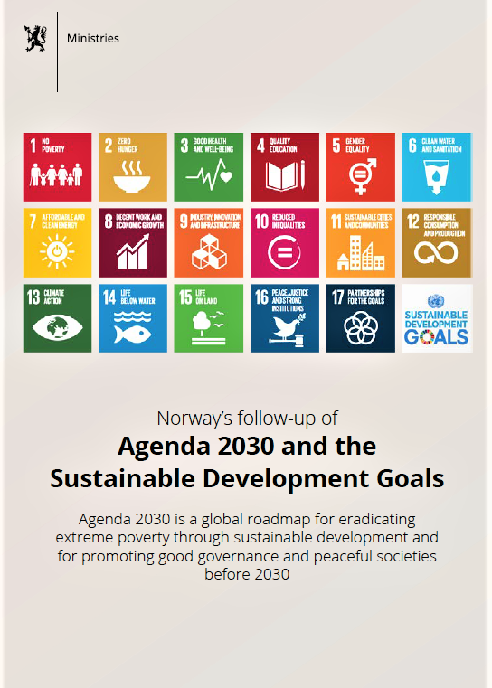 NORWAY'S AGENDA FOR 2030