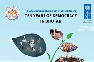BHUTAN HDR 2019 ABOUT DEMOCRACY