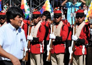 GAME OVER FOR EVO MORALES